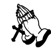 178x178 Praying Hands Line Drawing On With Rosary
