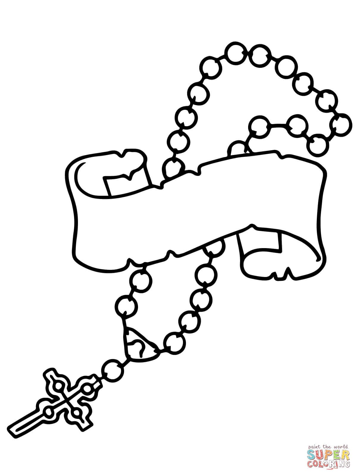 1200x1600 Praying Hands With Rosary Beads Drawing Archives Colossal Squid
