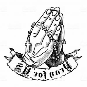 300x300 Praying Hands With Rosary Pray For Us Gm Arenawp