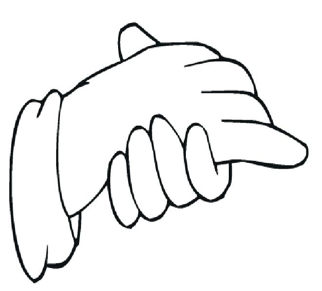 660x597 Rosary Coloring Pages Printable Coloring Pages Of Hands Showing