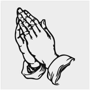 300x300 Clipart Praying Hands Fabulous Hand Clip Art Black And White