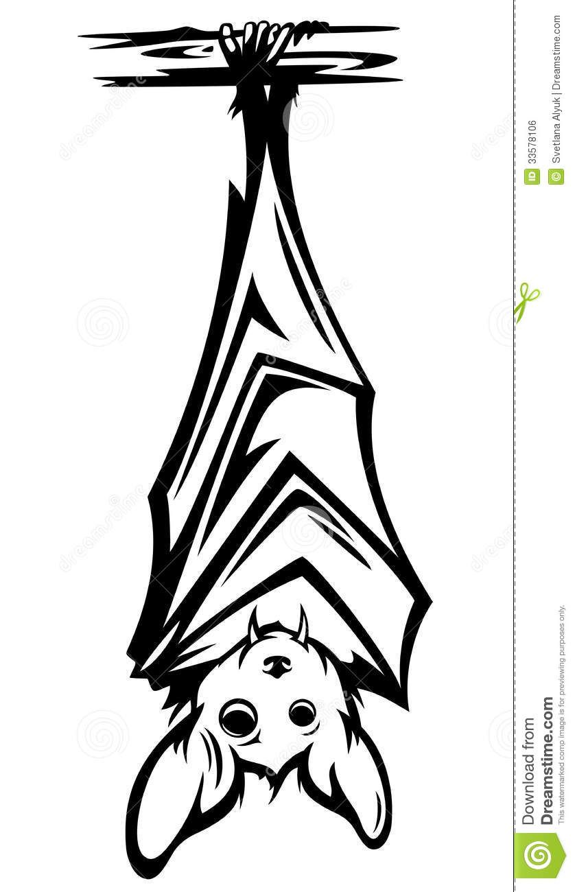838x1300 Cute Bat Vector Royalty Free Stock Image