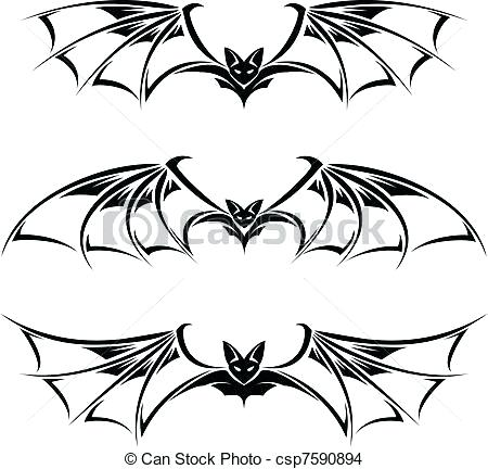 450x432 Drawing Bats Image Titled Draw A Bat Step Bats Drawing