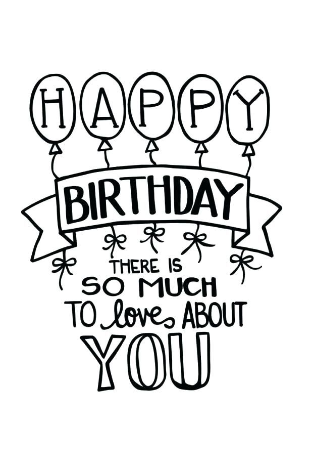 happy birthday drawing pictures  free download on clipartmag