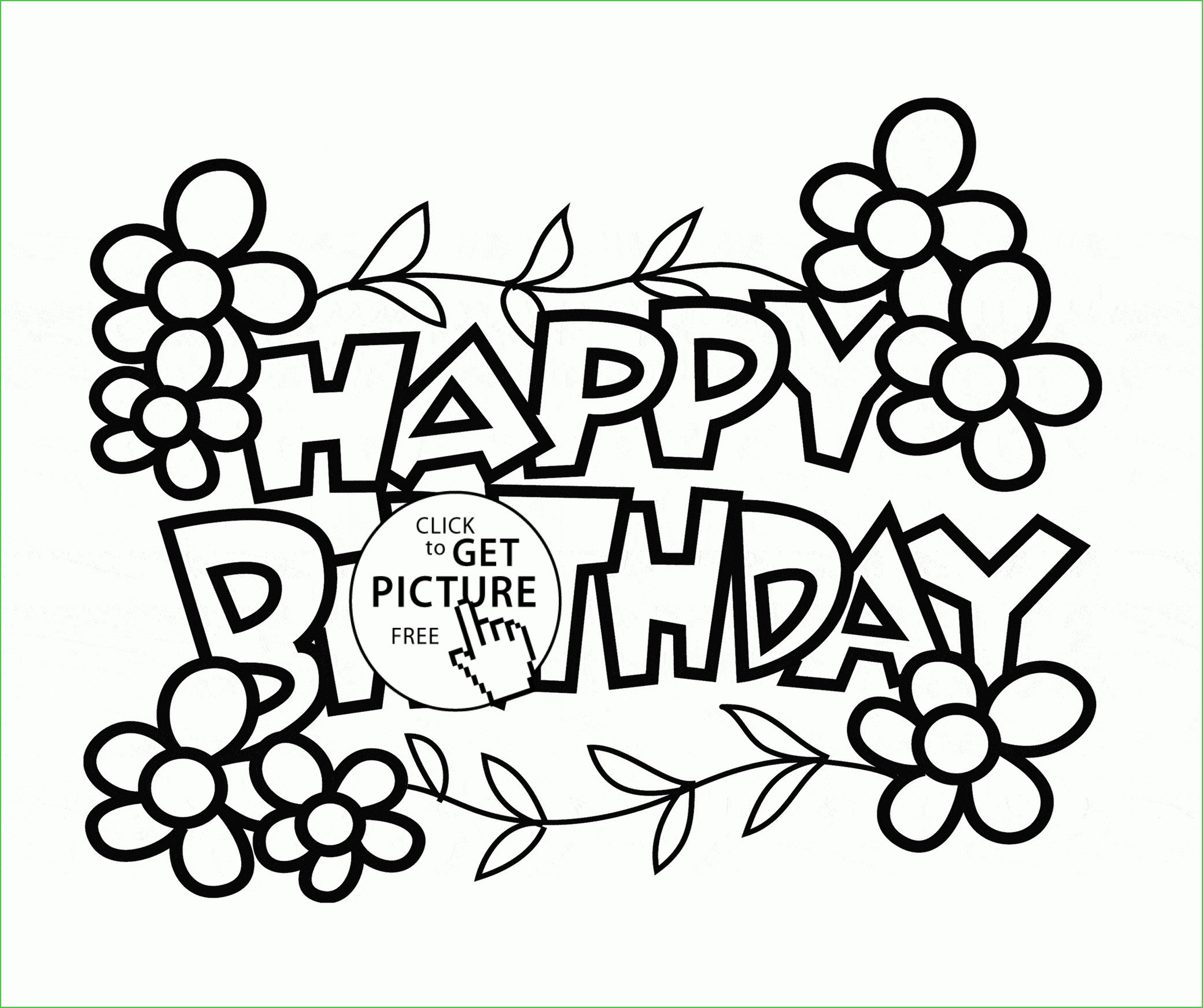 Happy Birthday Drawings For Card | Free download on ClipArtMag