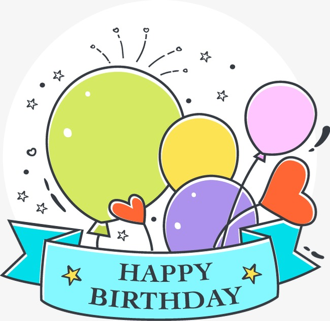 650x632 vector drawing happy birthday card, happy birthday card, card