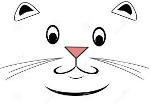 300x210 Cat Face Drawing Cartoon Cat Face Drawing Cartoon