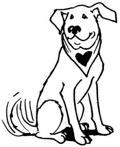 246x300 unmounted rubber stamps, dog stamps, hearts, animals, dogs, canine