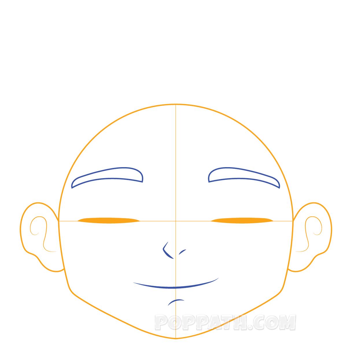 1200x1200 How To Draw A Happy Boy Pop Path