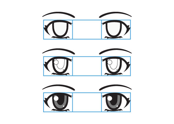 560x400 How To Draw Anime Eyes And Eye Expressions Tutorial