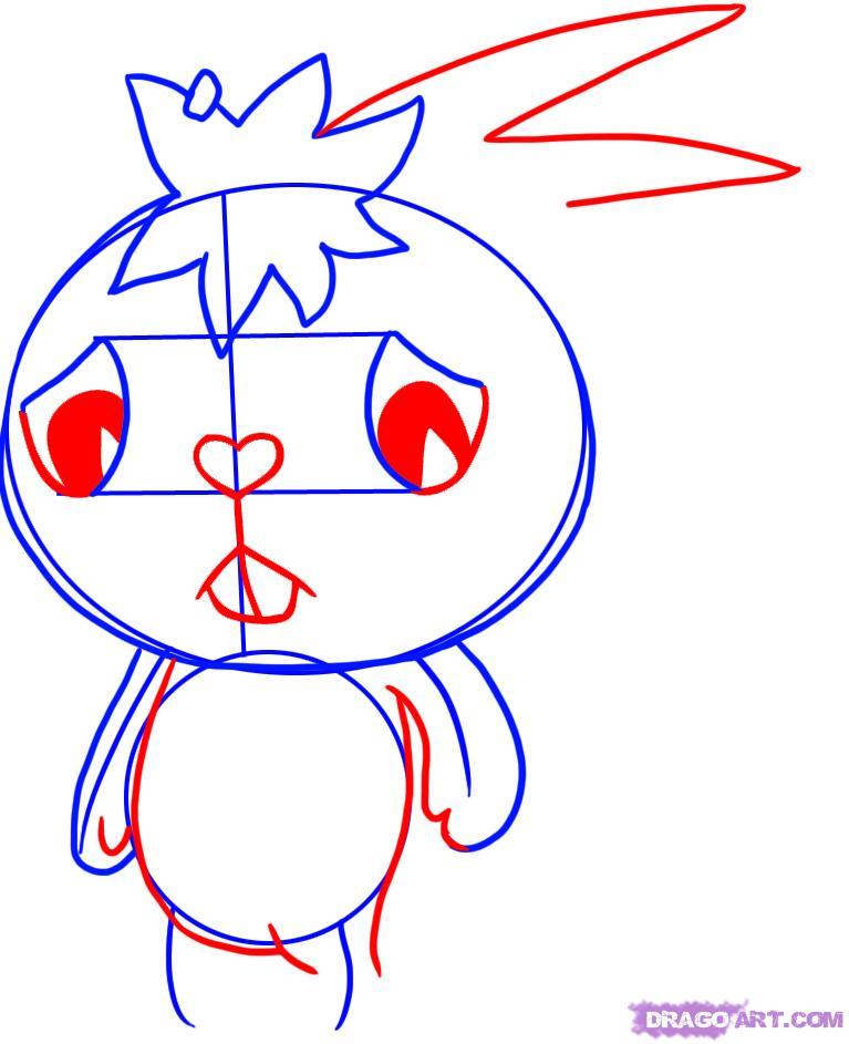 767x943 Happy Eyes Drawing