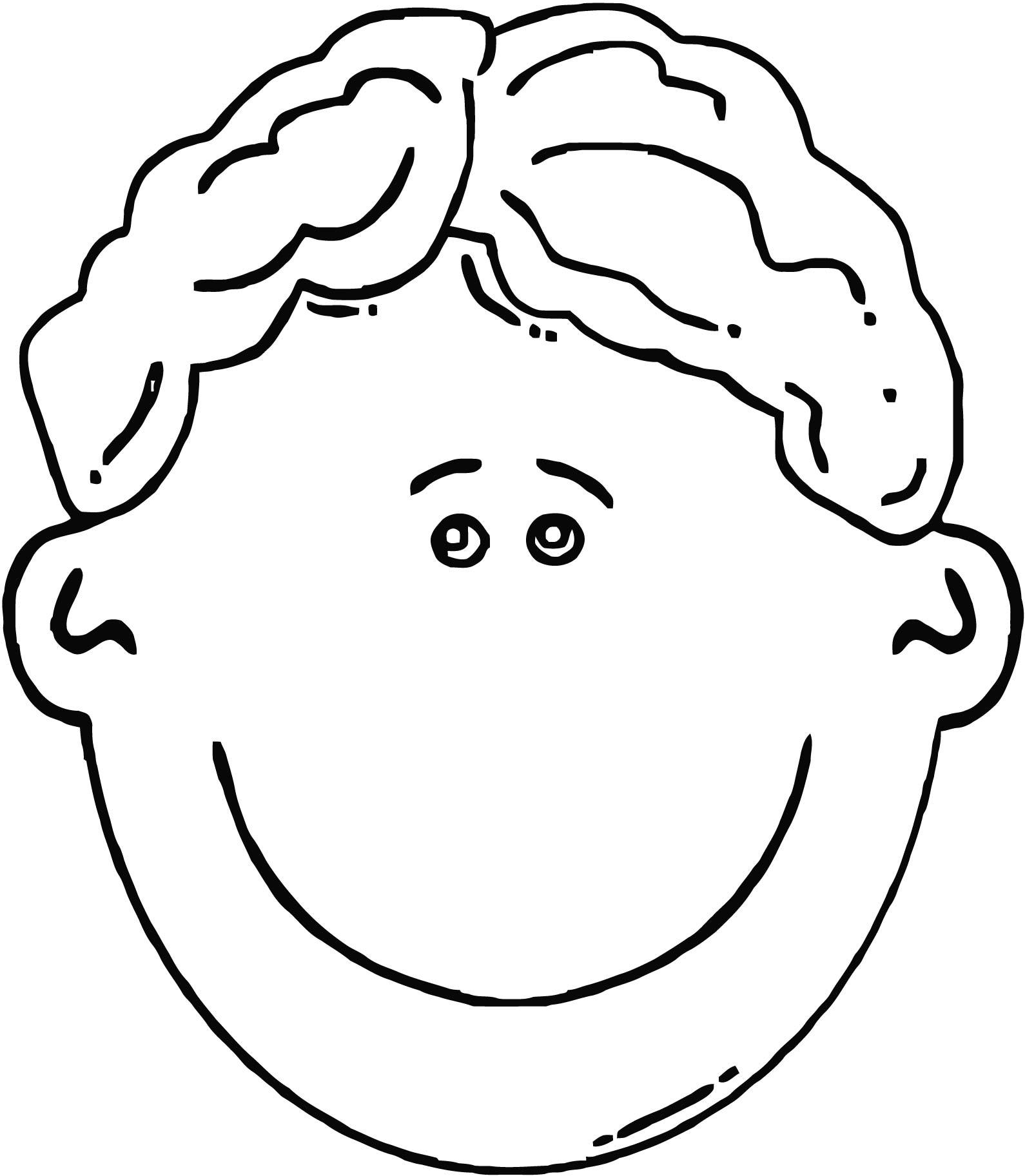 1590x1825 face girl smiley face boy face cartoon clip art coloring