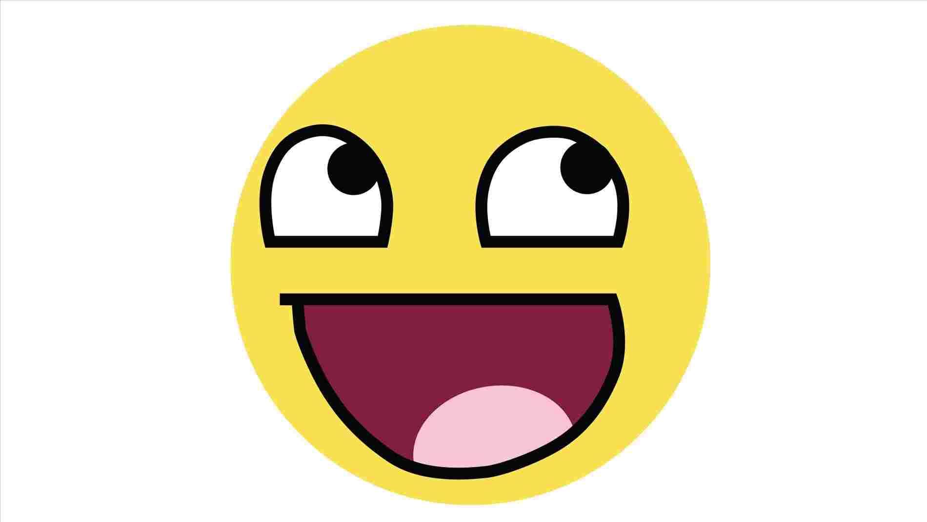 1900x1069 Happy Face Cartoon Drawing