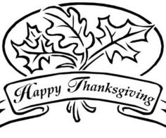Happy Thanksgiving Drawing   Free download on ClipArtMag