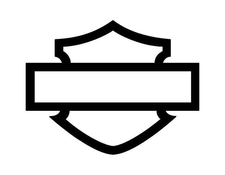 736x572 harley davidson logo outline luxury blank harley davidson logos