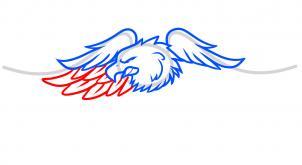 302x165 draw harley davidson logo, harley davidson, step