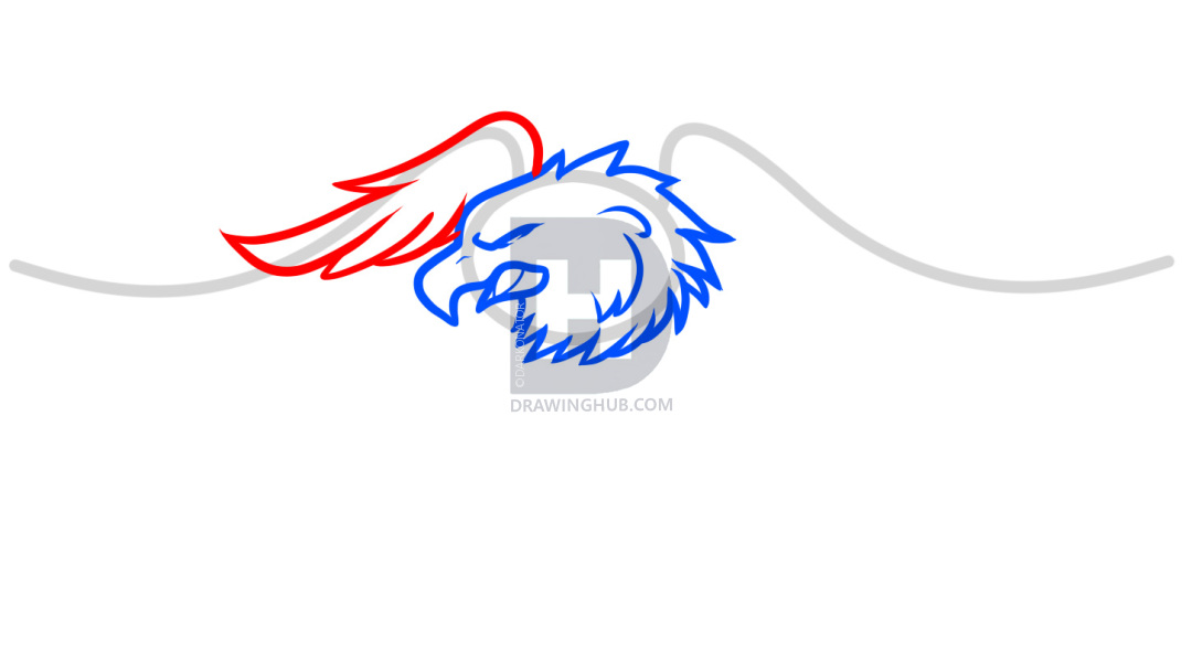 1080x590 how to draw harley davidson logo, harley davidson, step