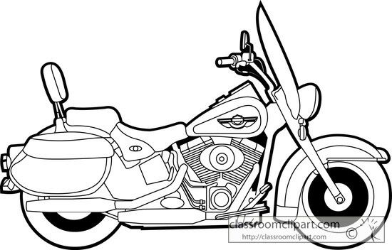 550x352 harley davidson bike motorcycle clipart, harley davidson art