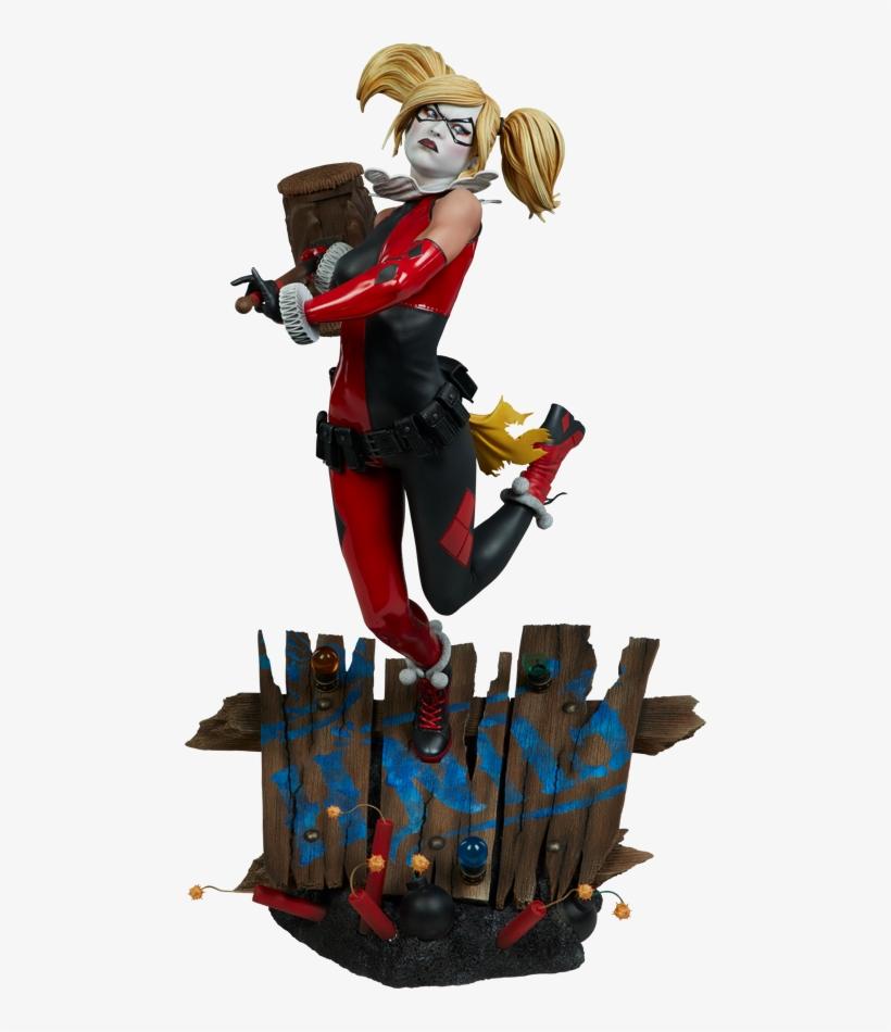 820x950 Harley Quinn Premium Format Statue