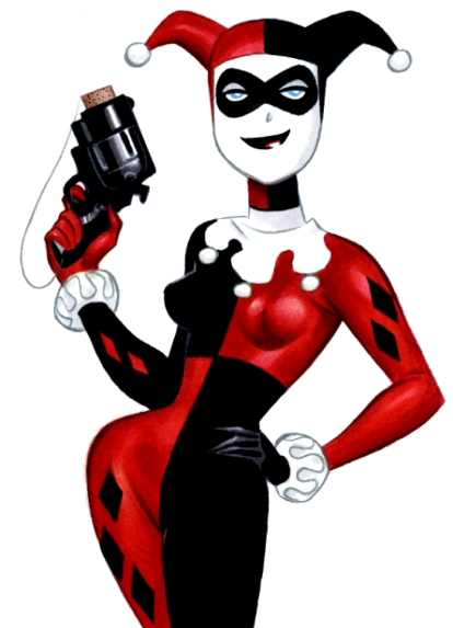 414x573 Sequential Sartorial Worst To Best Harley Quinn Outfits