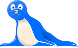 260x160 download baby harp seal drawing clipart harp seal walrus drawing