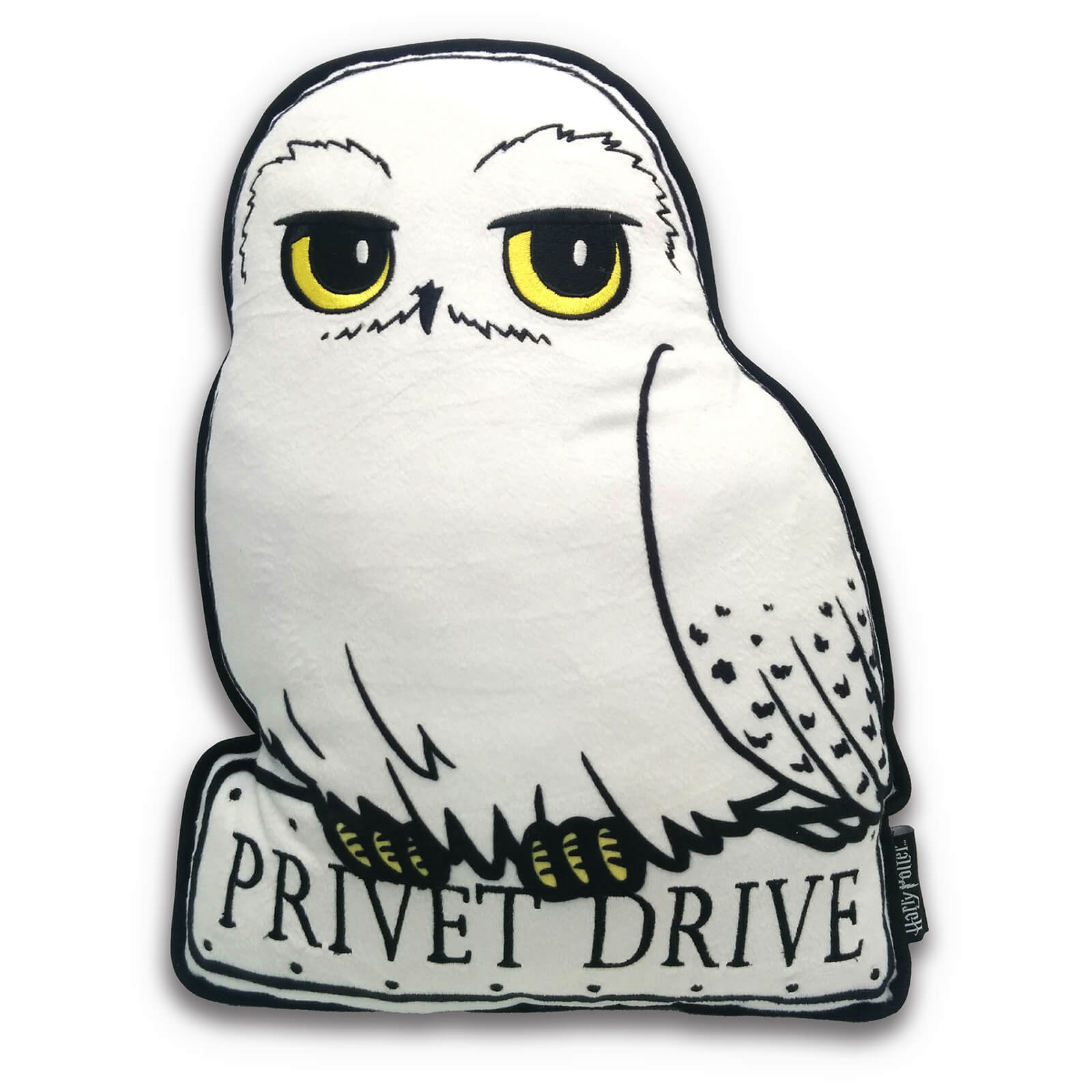 1600x1600 Harry Potter Hedwig Cushion Homeware Zavvi