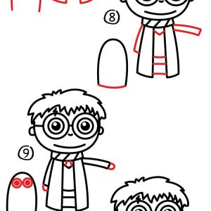 Harry Potter Cartoon Drawing Free Download Best Harry Potter