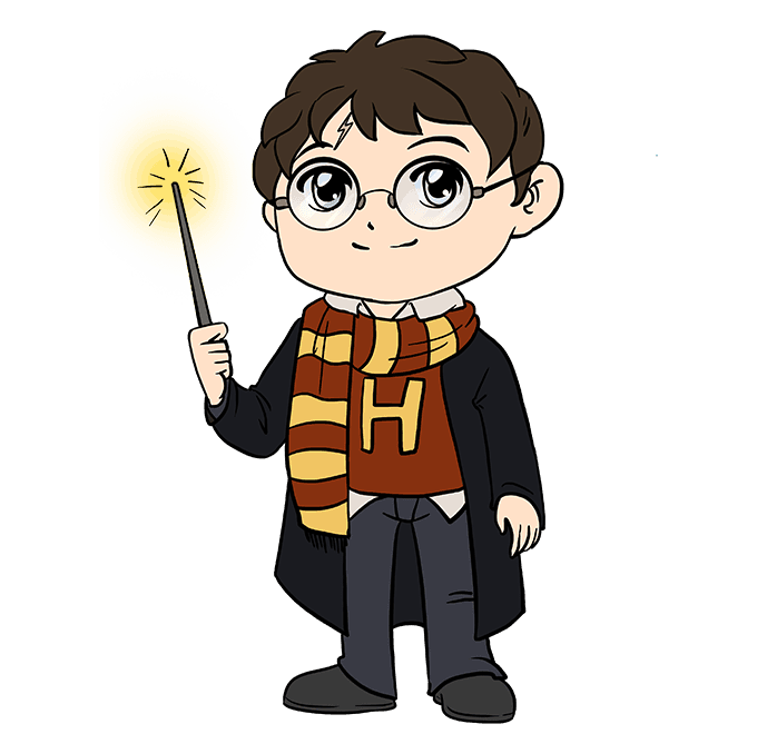 680x678 How To Draw Harry Potter