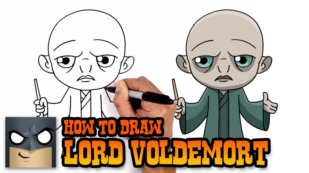 1280x720 How To Draw Lord Voldemort Harry Potter