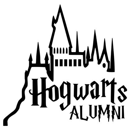 425x419 signage cafe hogwarts alumni castle car truck vinyl