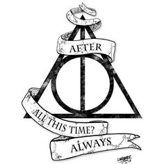 Harry Potter Deathly Hallows Symbol Drawing