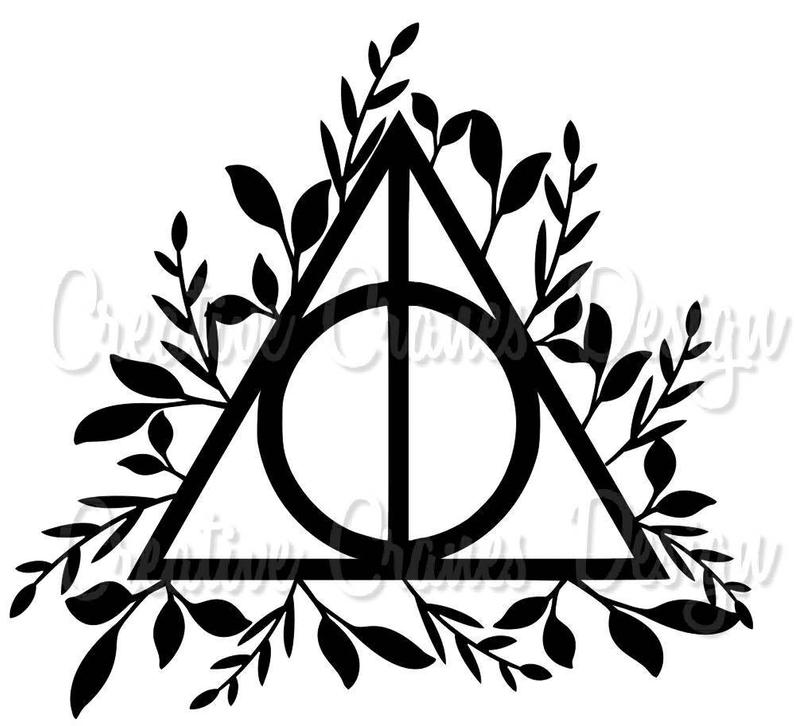 8842f6412 Harry Potter Deathly Hallows Symbol Drawing | Free download best ...