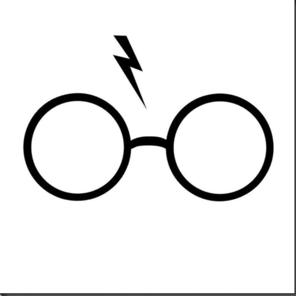Harry Potter Glasses Drawing