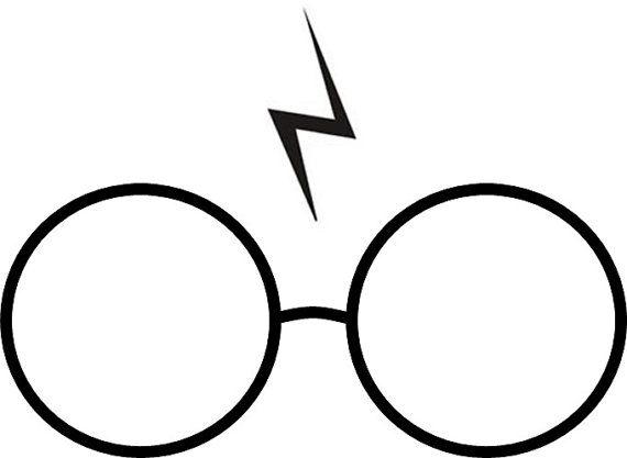 570x417 Harry Potter Glasses And Scar Temporary