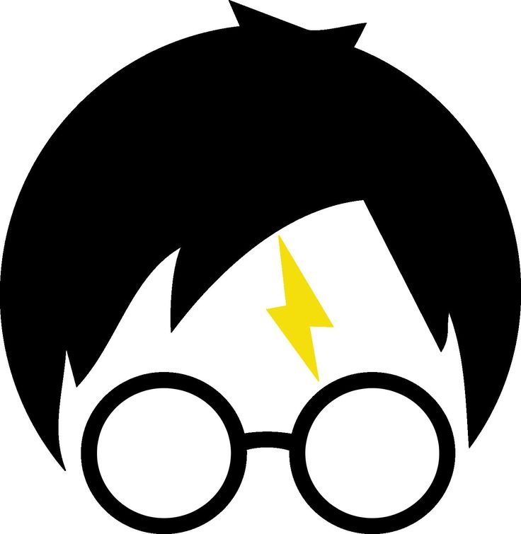 736x755 Harry Potter Glasses Clipart Silhouette Of Harry Potter