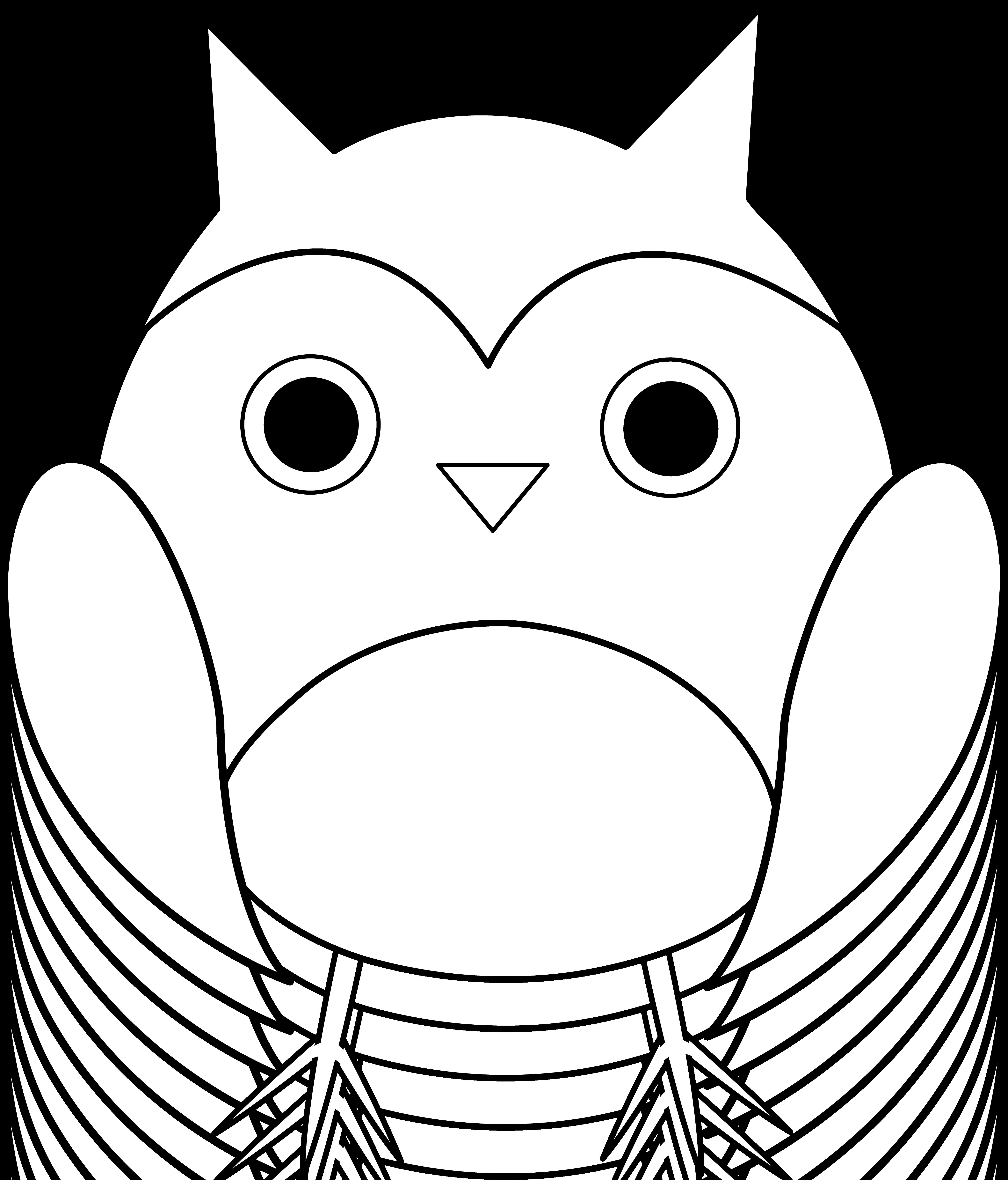 5179x6060 Transparent Owl Black And White Huge Freebie! Download