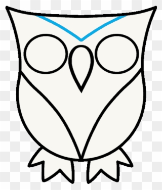 320x376 How To Draw Owl