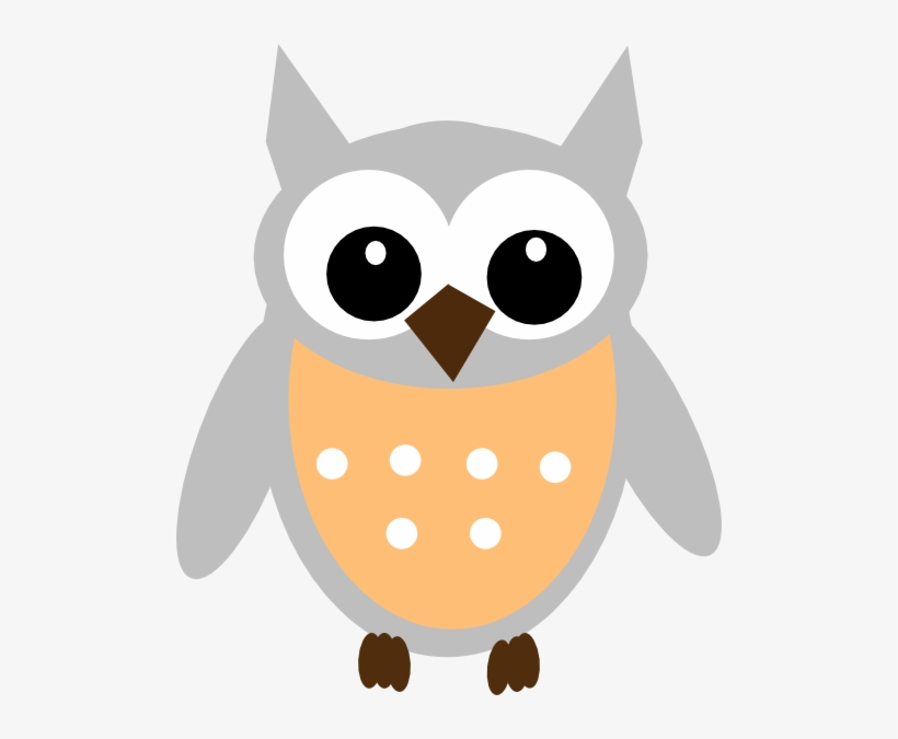 820x675 How To Set Use Light Orange Gray Owl Vector
