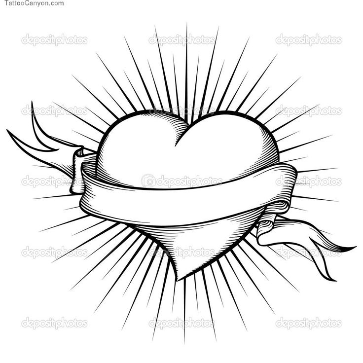 736x736 Drawing Styles Heart For Free Download