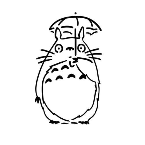 500x500 My Neighbor Totoro Tattoo Kutame