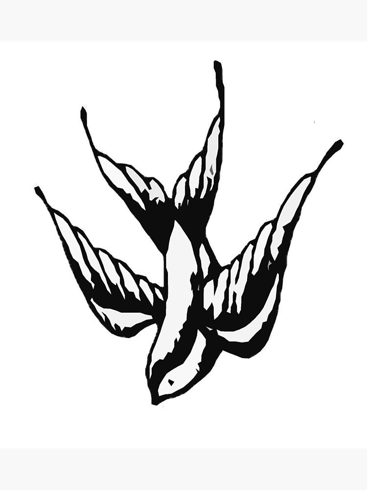 750x1000 Shawn Mendes Bird Tattoo Photographic Print