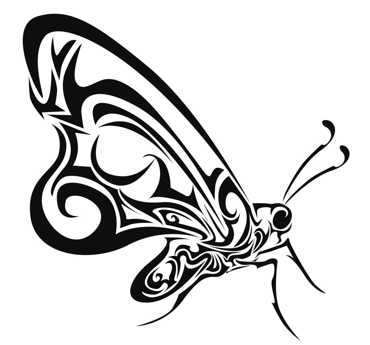1200x1118 These Butterfly Tattoo Meanings Will Tempt You To Get One
