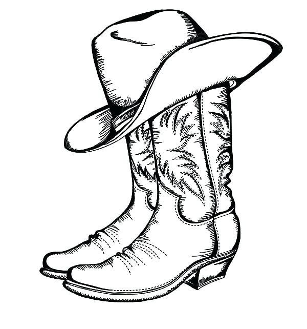 600x642 cowboy hat drawing how to draw cowboy hats cowboy hat drawing