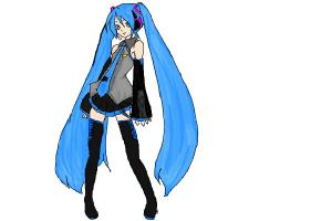 300x200 How To Draw Hatsune Miku