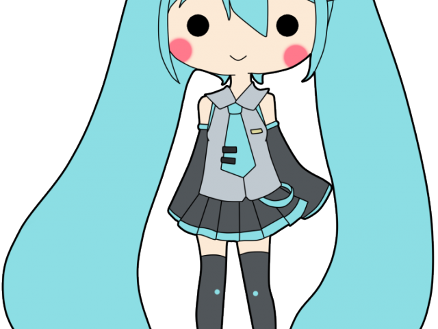640x480 Download Hatsune Miku Clipart Simple