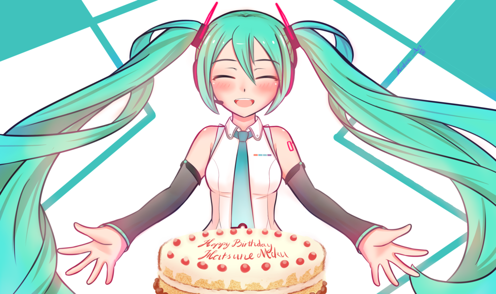1024x607 Happy Birthday, Miku! Hatsune Miku Vocaloid Know Your Meme