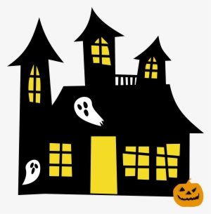 300x305 haunted house png, transparent haunted house png image free