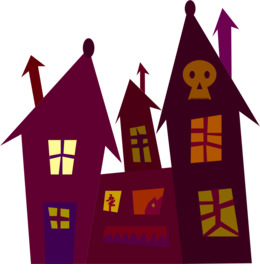 260x280 download haunted house silhouette clipart haunted house silhouette