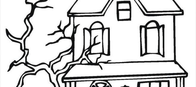 660x293 haunted house plans buy haunted house drawing