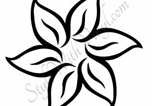 300x210 Hawaiian Flower Drawing